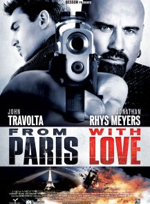 poster_From Paris with Love คู่ระห่ำ ฝรั่งแสบ (2010)